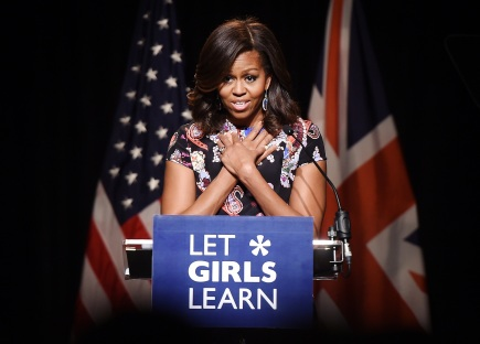 Michelle Obama Promotes #62MillionGirls and the Let Girls Learn Initiative